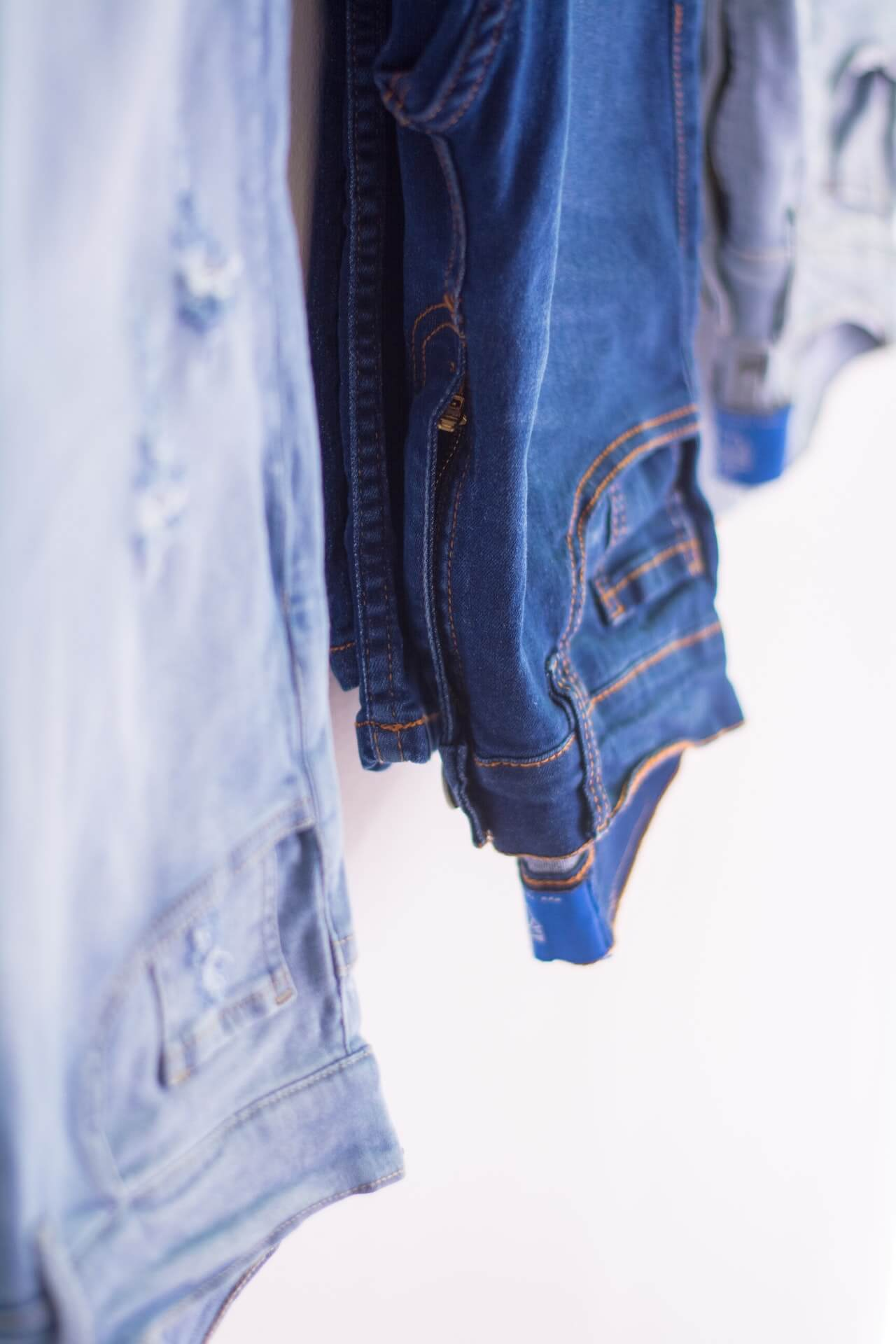 hanging jeans